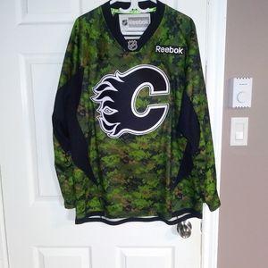 Calgary flames military appreciation jersey